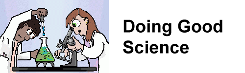Doing Good Science Logo